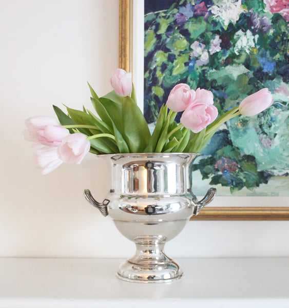 Antique Silver Plate Champagne Bucket