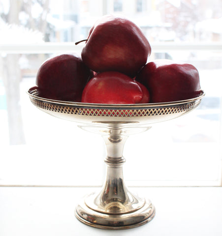 Antique Silver-Plate Compote
