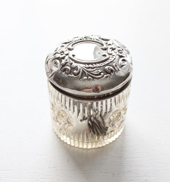 Antique Dresser Jar, 1922