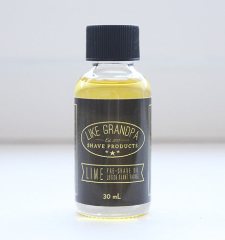 Pre-Shave Oil, Lime