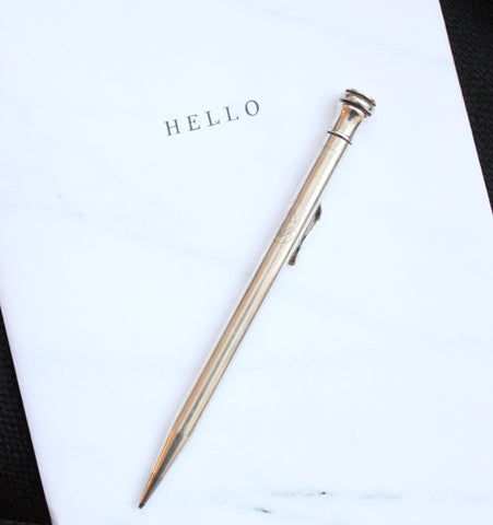 Sterling Silver Pencil (d. 1936)