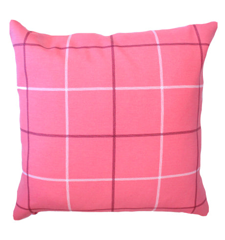 Pink Stripe Pillow