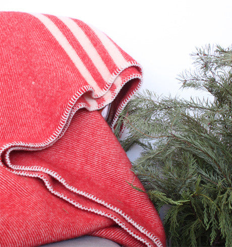 MacAusland Red Lap Blanket