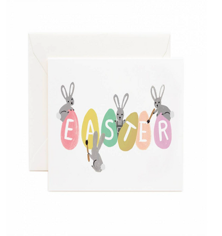 Rifle Paper Co - Busy Bunnies Easter