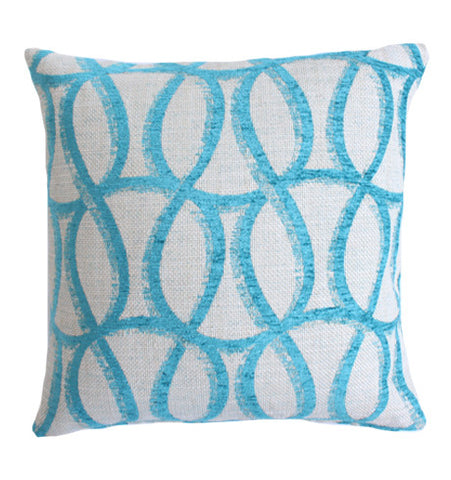 Pillow Blue Pattern