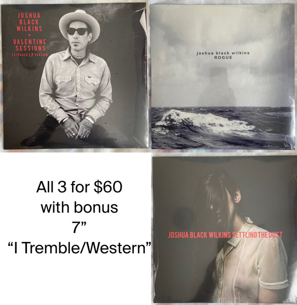 joshua black wilkins Vinyl bundle.