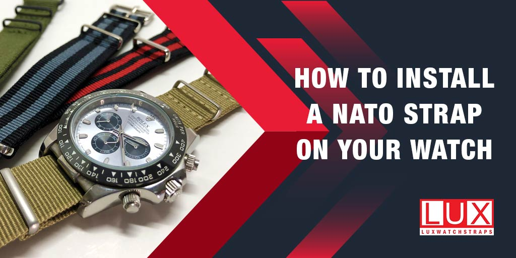 How to install a NATO strap on your watch
