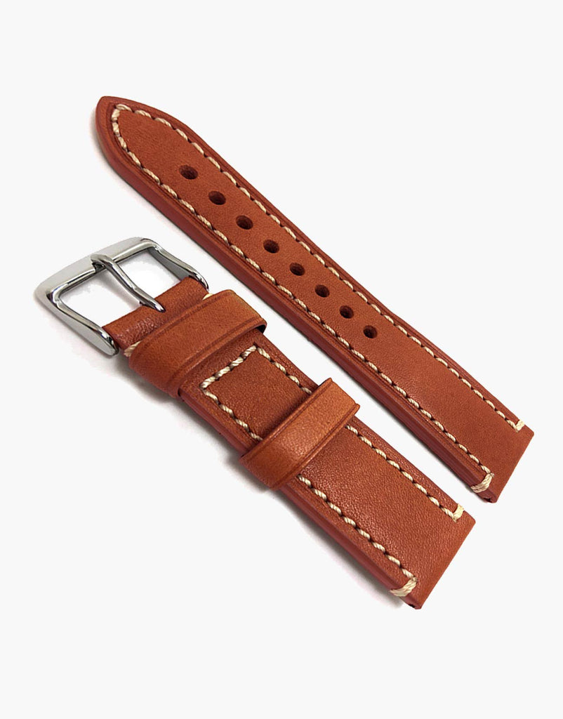 Hadley Roma Tan Calf Leather watch Strap Band