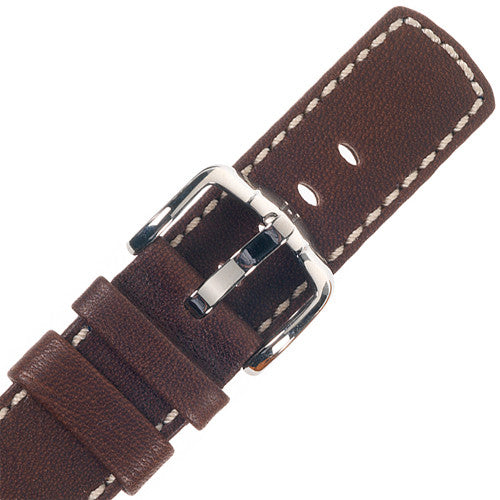 HIRSCH Mariner 100 Meters Water Resistant Leather Brown