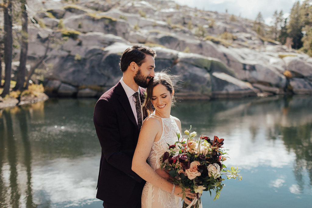 Kathleen & Carter – Autumnal Forrest Wedding in Kirkwood, California