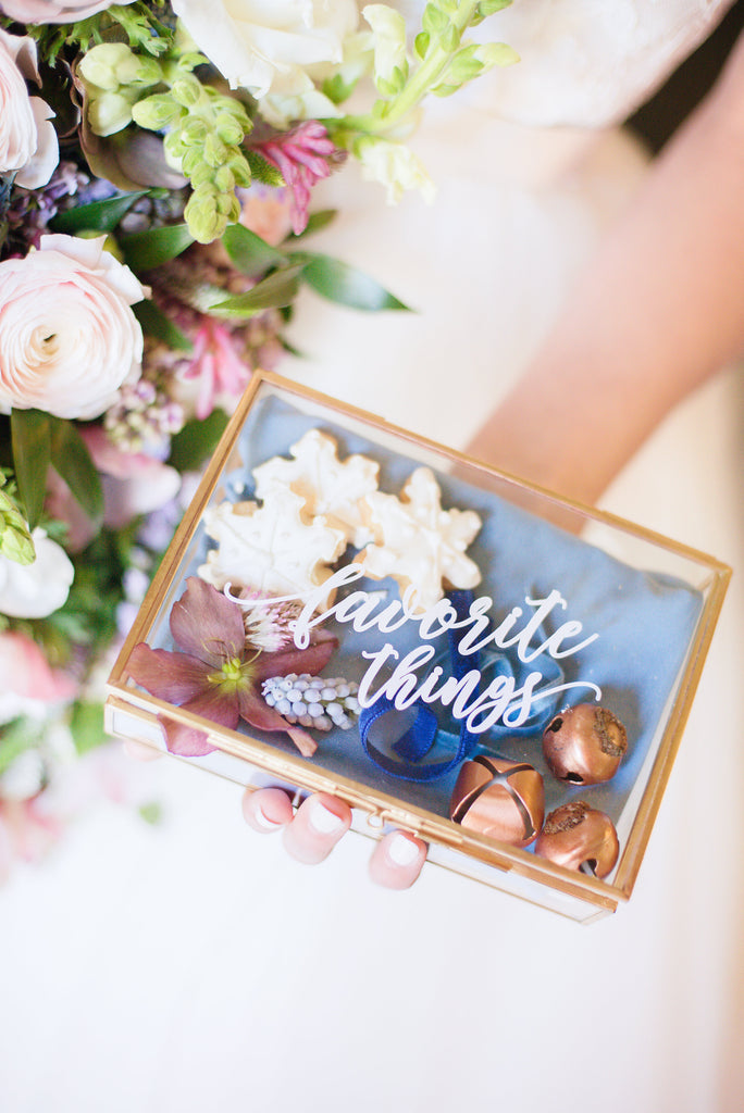 My Favorite Things Styled Shoot at Merion Tribute House
