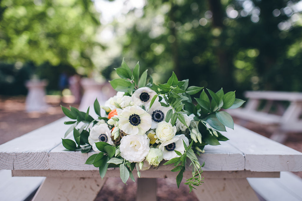 Rachel and Matthew - June Wedding at Awbury Arboretum | Flowers | Tallulah Ketubahs