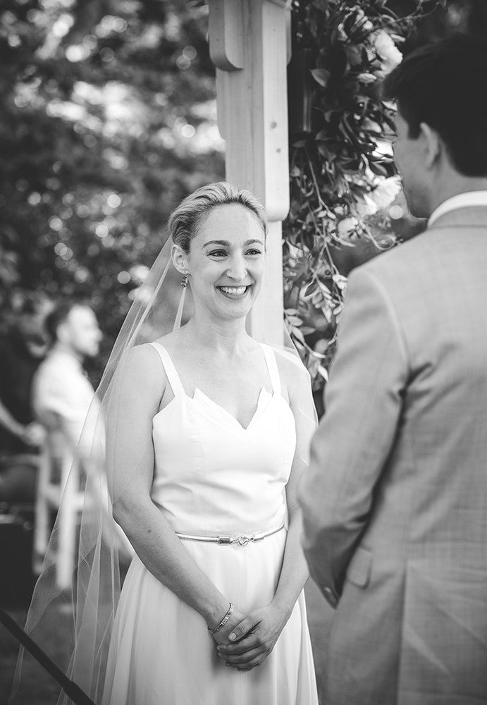 Rachel and Matthew - June Wedding at Awbury Arboretum | Outdoor Ceremony | Tallulah Ketubahs