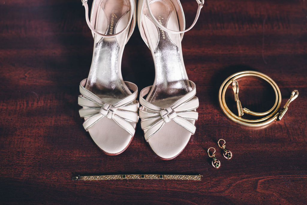 Rachel and Matthew - June Wedding at Awbury Arboretum | Wedding Shoes | Tallulah Ketubahs