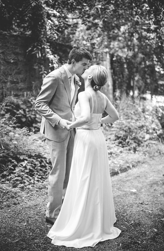 Rachel and Matthew - June Wedding at Awbury Arboretum | Tallulah Ketubahs