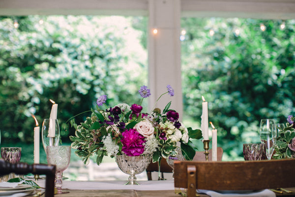 English Garden Party Styled Shoot at Bolingbroke Mansion | Tablescape | Tallulah Ketubahs