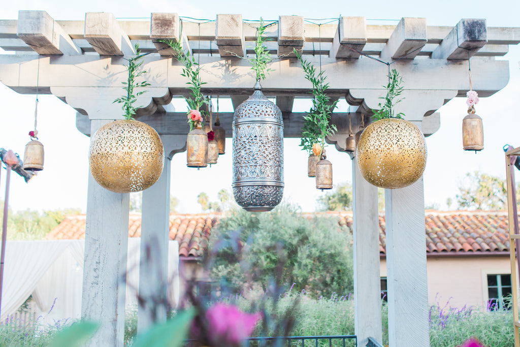 Courtney & Sam Beautiful Boho Wedding in Santa Barbara | Archway Decor | Tallulah Ketubahs