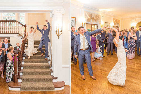 Amy & Craig's Wedding at Woodend Sanctuary | Bride and Groom's Entrance to Reception | Tallulah Ketubahs