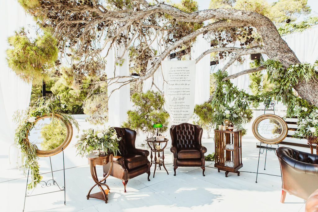 Celine & Jad - Luxury Bespoke Destination Wedding in Spetses Island, Greece | Tallulah Ketubahs