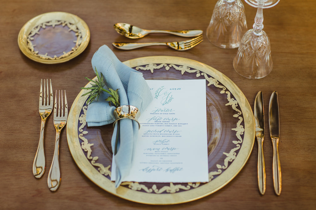 Celine & Jad - Luxury Bespoke Destination Wedding in Spetses Island, Greece | Romantic Floral Tablescape | Tallulah Ketubahs