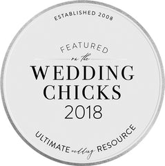 Featured in the Wedding Chicks 2018 Ultimate Wedding Resource