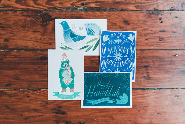 Folk Art Greeting Cards | Tallulah Ketubahs