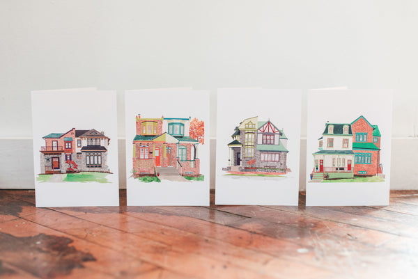 Happy Neighbors Greeting Cards