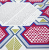 Geometric Pomegranate Ketubah with Matching Parents' Gift | Detail Shot | Tallulah Ketubahs