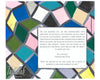 Stained Glass Geometric Parents Gift | Tallulah Ketubahs