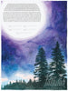 Tall Trees in the Moonlight Ketubah | Tallulah Ketubahs