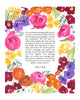 Vibrant Bouquet Parents Gift | Tallulah Ketubahs