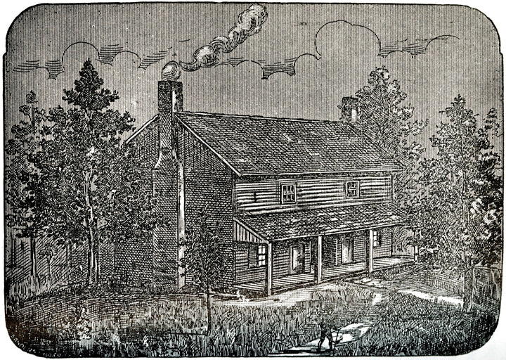 The Bell Witch cabin