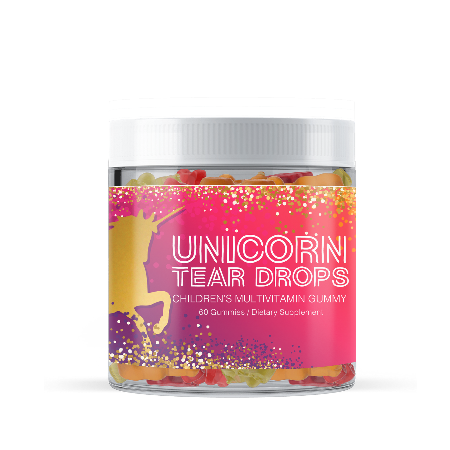 Chacha & Chicky®  Kids Unicorn Multivitamin Tear Drops