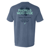 """Madness Worldwide"" Pocket Tee (Blue Jean)"