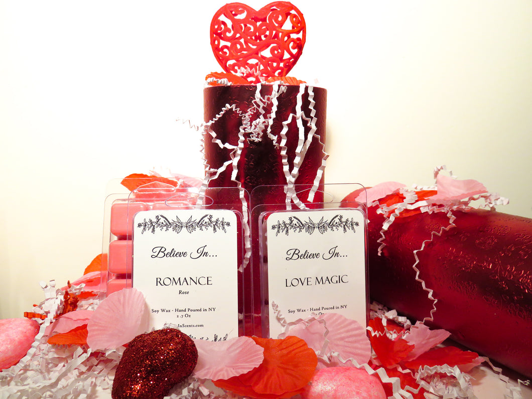 Wax Melt Clamshell Gift Set Valentine