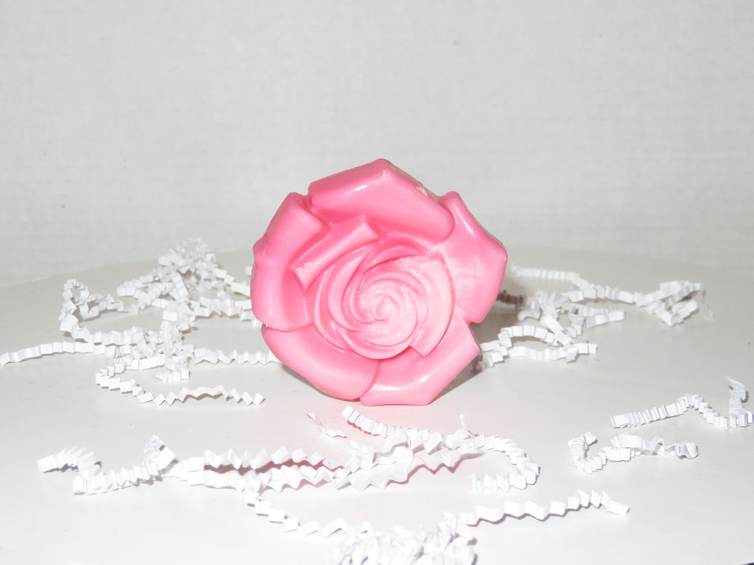 Large Rose Wax Melt Shape