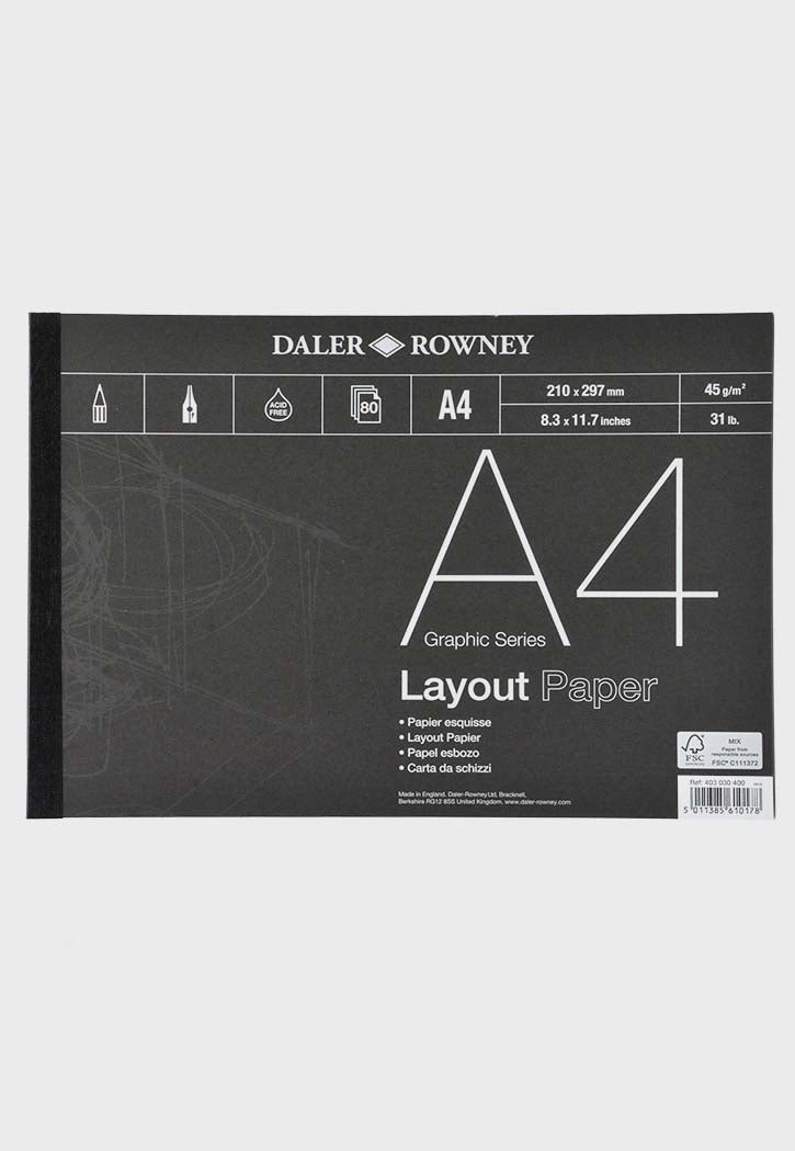 Daler Rowney - Layout Pad A4