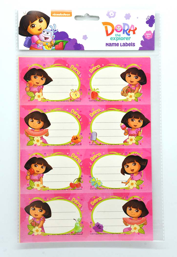 Dora - Name Labels Stickers