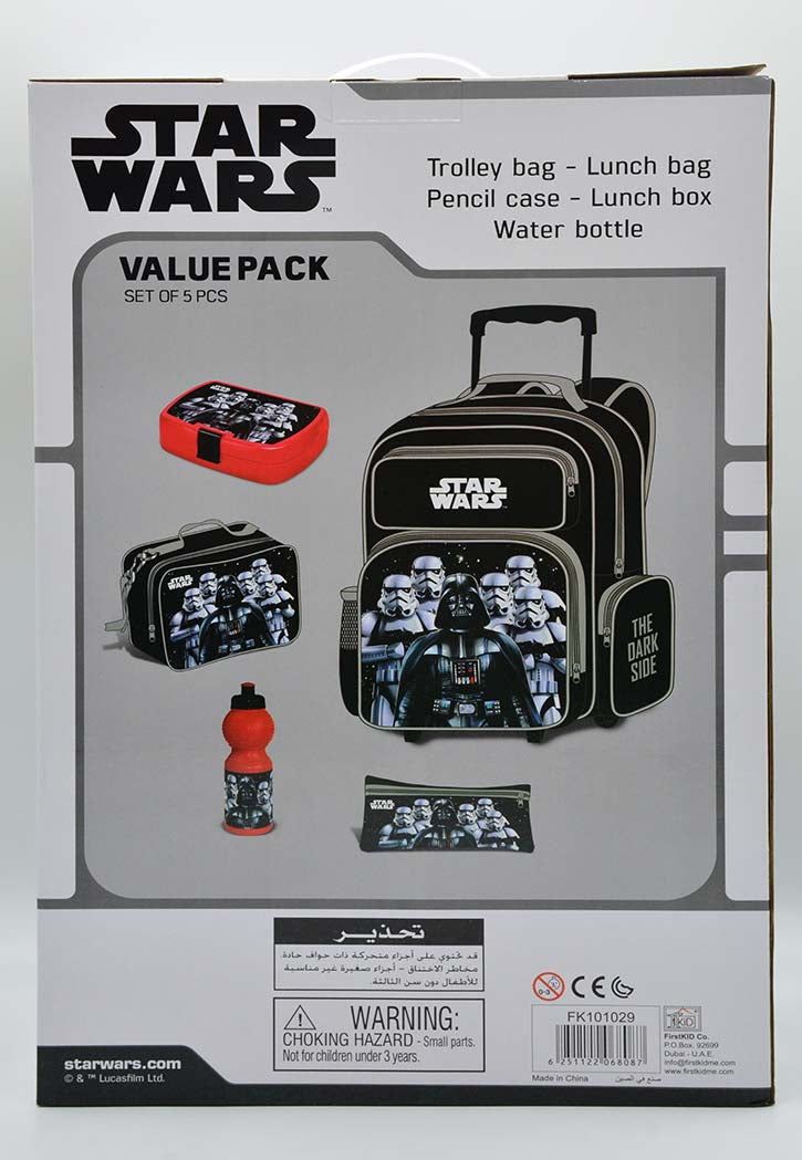 STAR WARS VALUE PACK SET OF 5PCS
