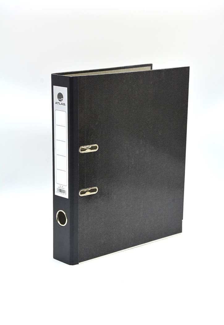 Atlas - Box File 4CM, 50 ( Black )