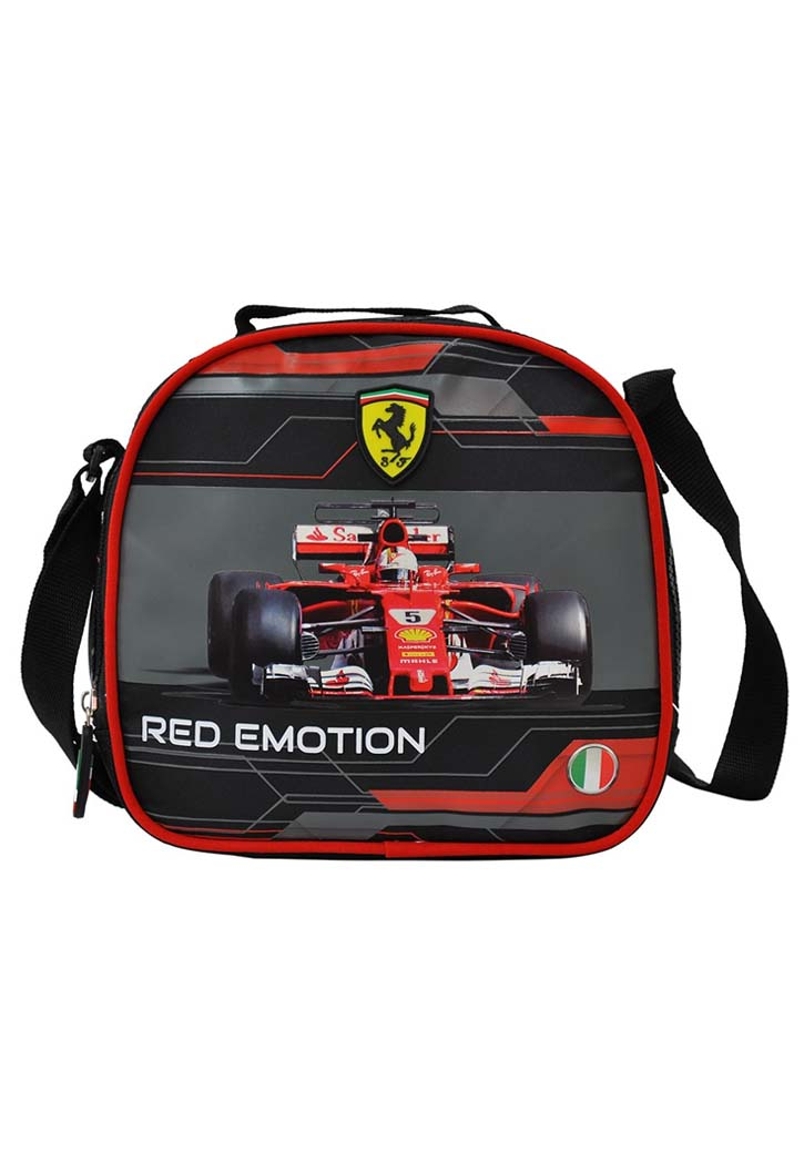 FERRRI RED EMOTION FAST TO BE FIRST LUNCH BAG