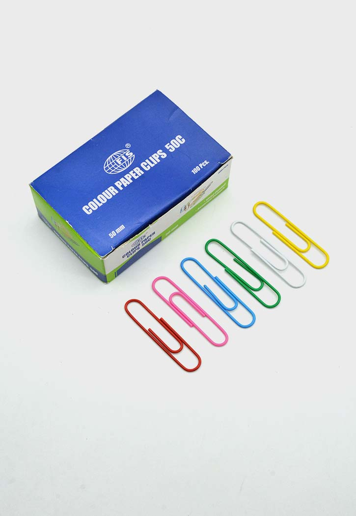 FIS - Colored Paper Clips 50MM