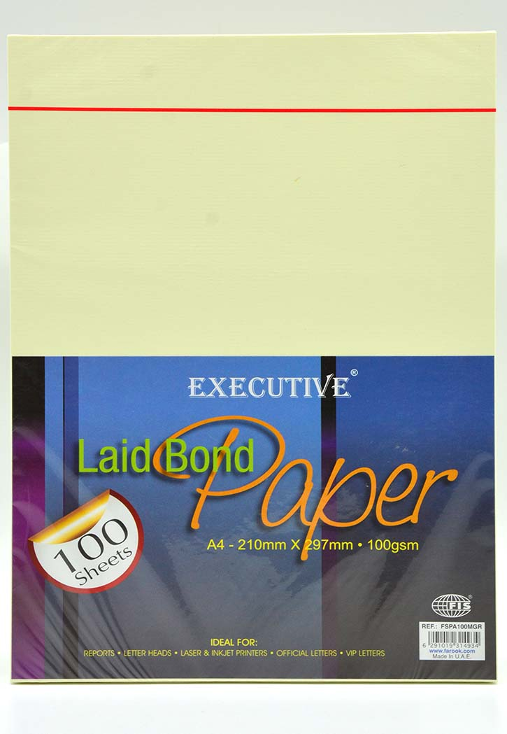 FIS Executive - Bond Paper A4 (Meadow Green)