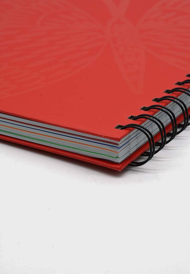 ATK - Spiral Hard Cover 5 Subject Notebook
