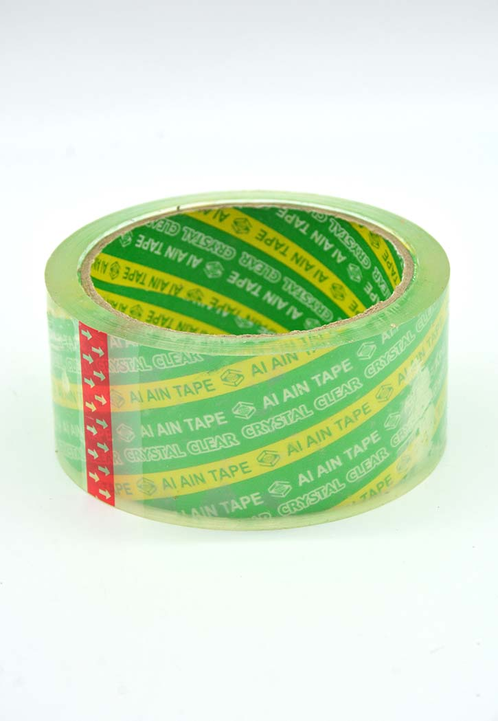 Al Ain Tape - Clear Packing Tape (48CMX50Y)