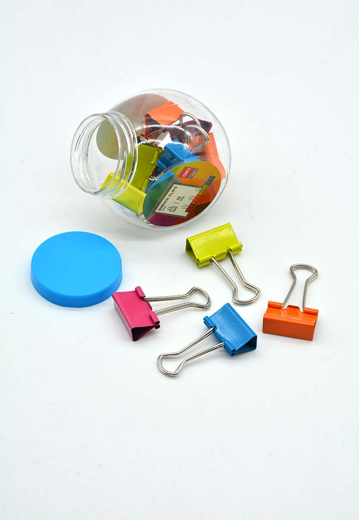 Deli - Colored Binder Clips 25MM