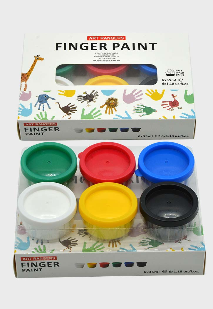 Art Ranger - Finger Paint Set 6x35ML