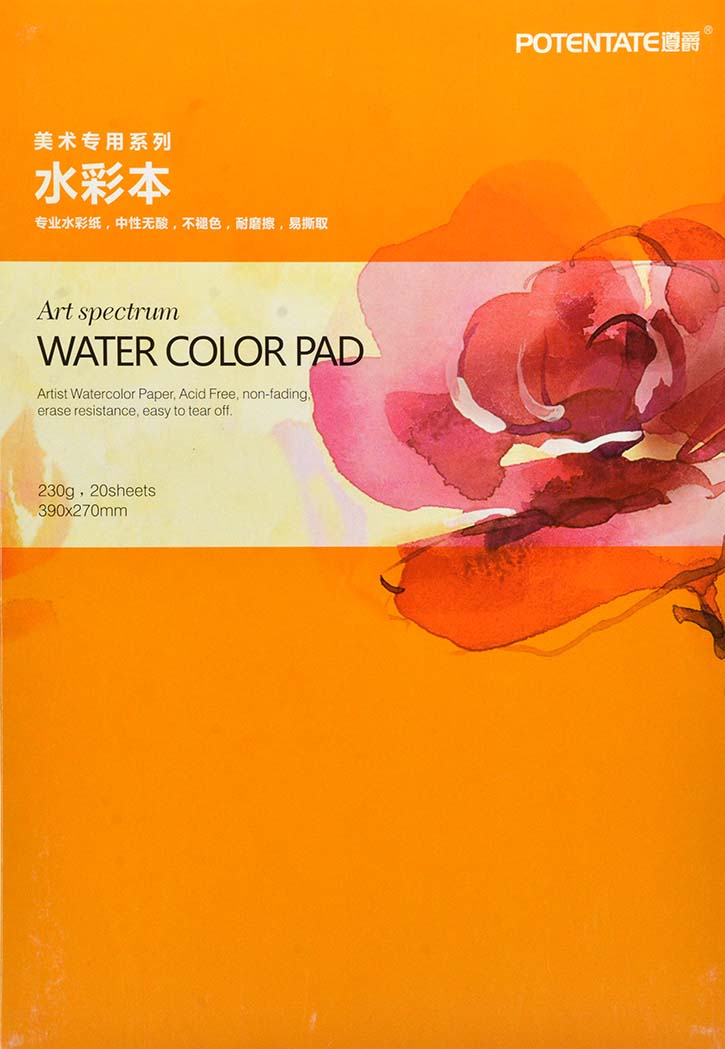 Potenatate - Water Color Pad 390x270MM
