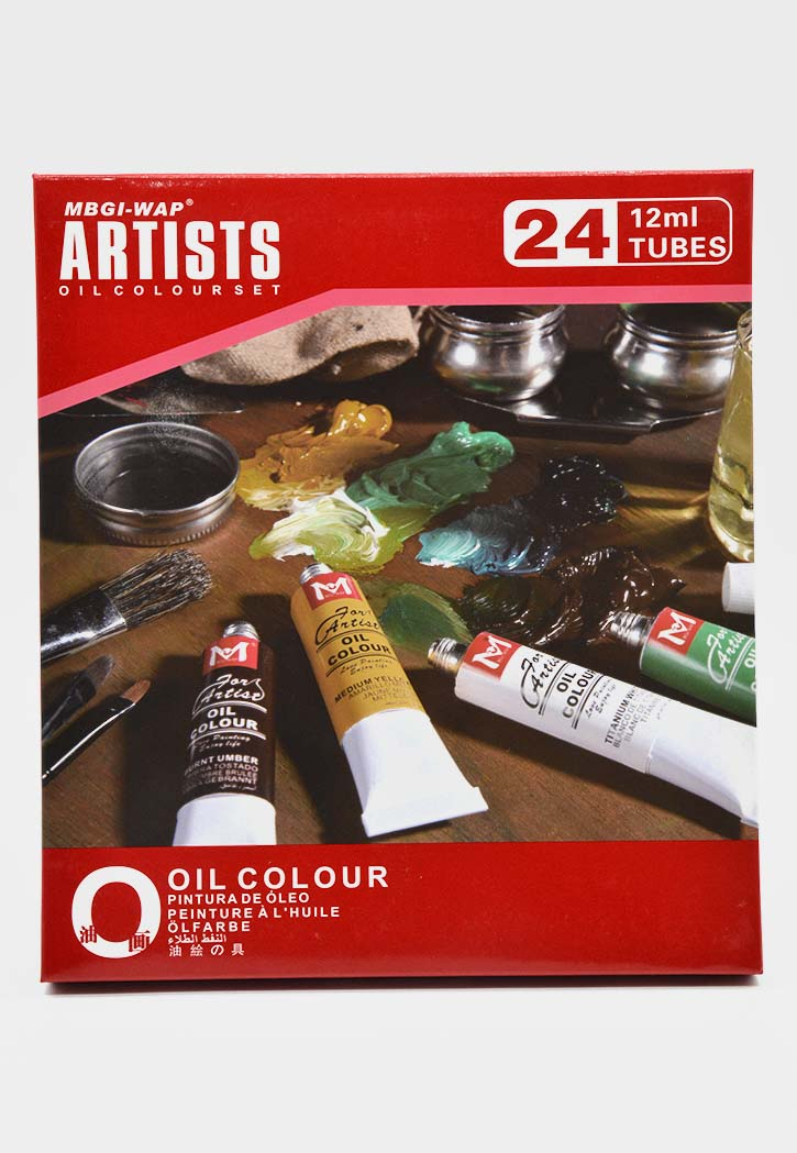 Artists - Oil Color Set 24x12ML