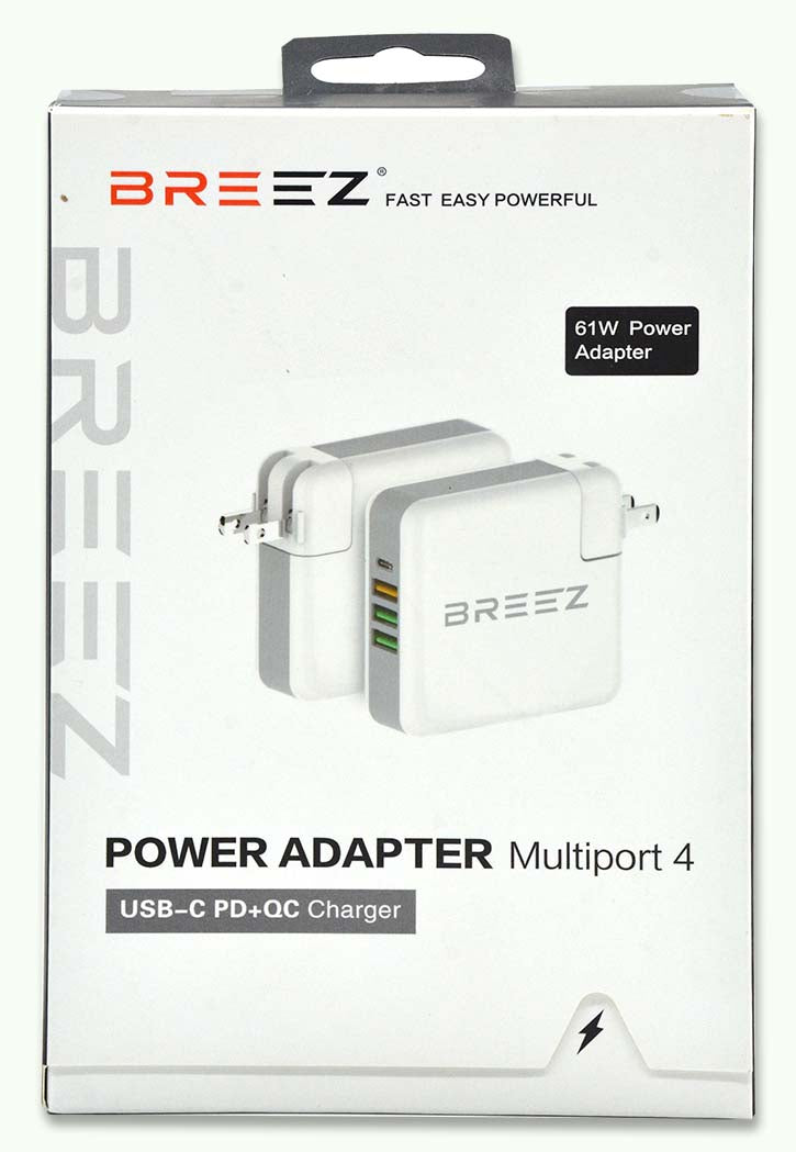 BREEZ - 4-Port Power Adapter